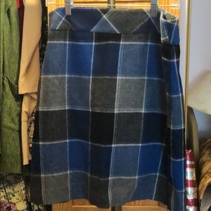 Fully lined wool Talbots Skirt